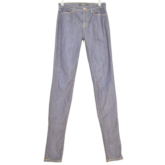 J Brand Denim - J-Brand-jeans-28-x-34-Jess-high-rise-skinny-dar